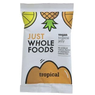 Just Wholefoods Jelly Crystals - Trop Fruits - 85g